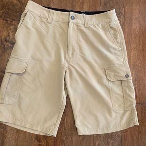 BKE Hybrid Khaki Shorts